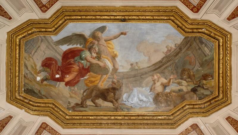 Vanvitelli L. (1750), Abacuc trasportato dall'angelo a Babilonia