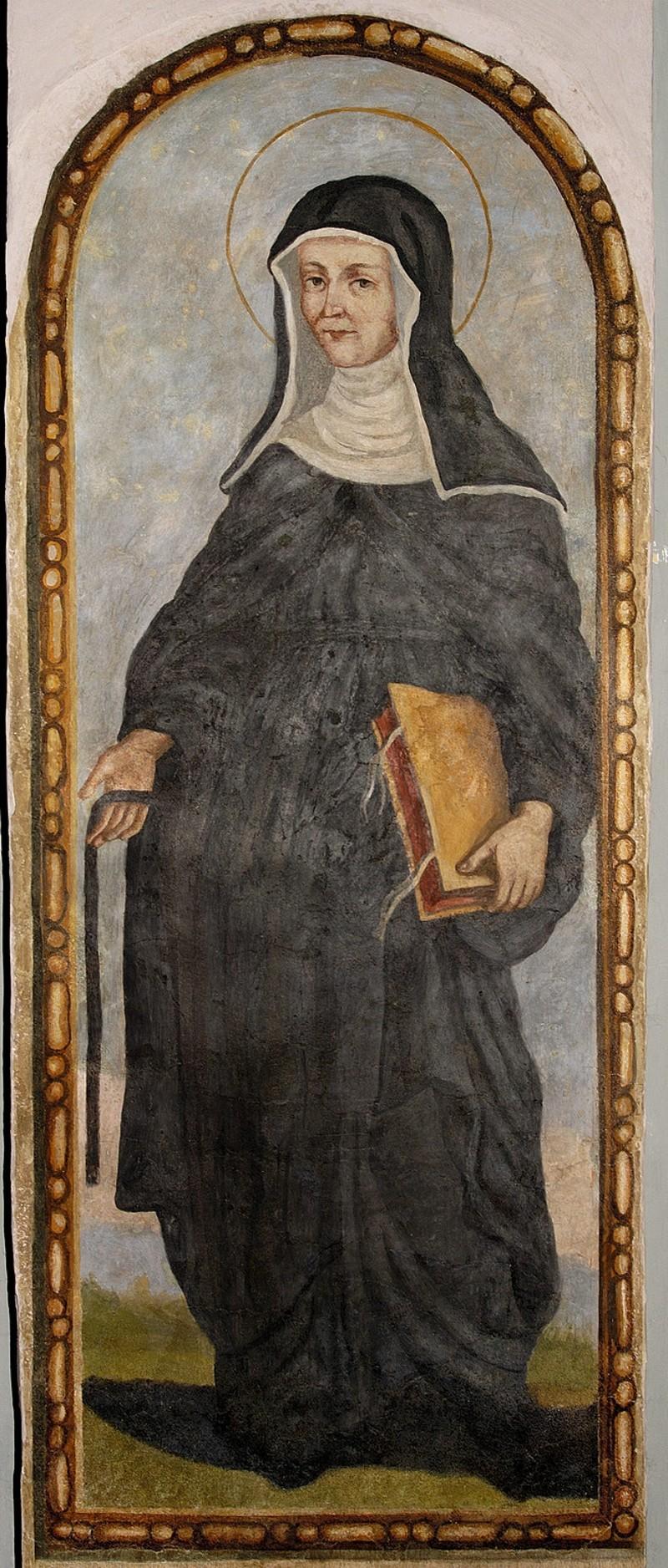 Bottega italiana sec. XVII, Ritratto di Suor Francesca Farnese