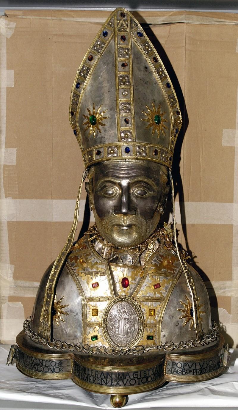 Ambito viterbese (1480), Busto di San Vivenzio