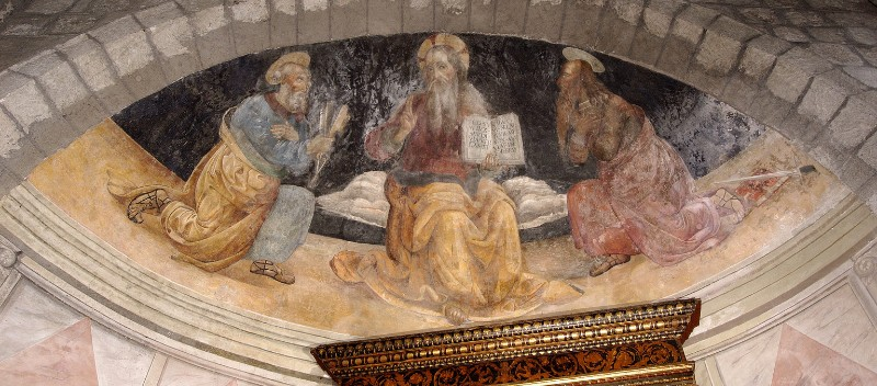 Giovan Francesco d'Avanzarano sec. XVI, Gesù Cristo Benedicente