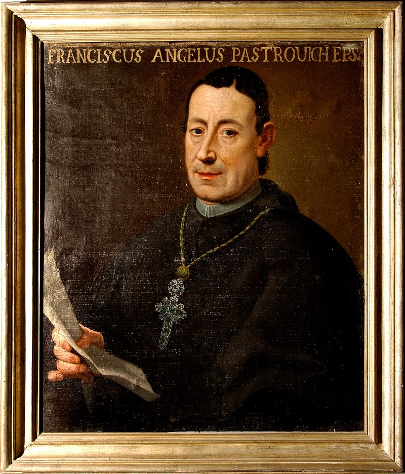 Bottega italiana sec. XVIII, Francesco Pastrovichi vescovo