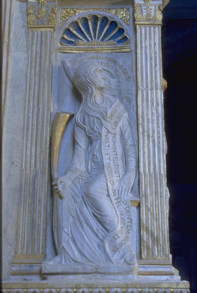 Agostino di Duccio (1454-1457), Sibilla Delfica