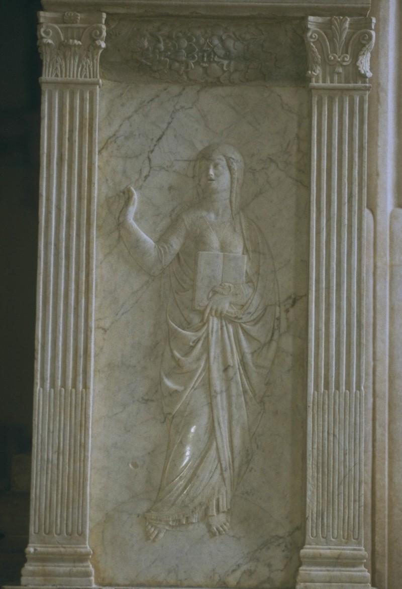 Agostino di Duccio (1455-1457), La Retorica