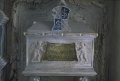 Agostino di Duccio (1452-1453), Monumento sepolcrale di Isotta degli Atti