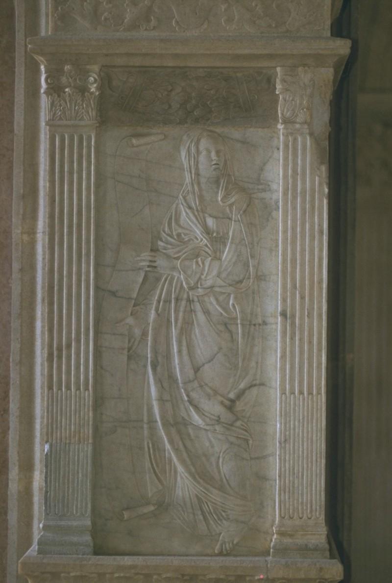 Agostino di Duccio (1455-1457), La Matematica