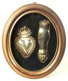 Bottega valsusina sec. XX, Ex voto a forma di braccio e di cuore