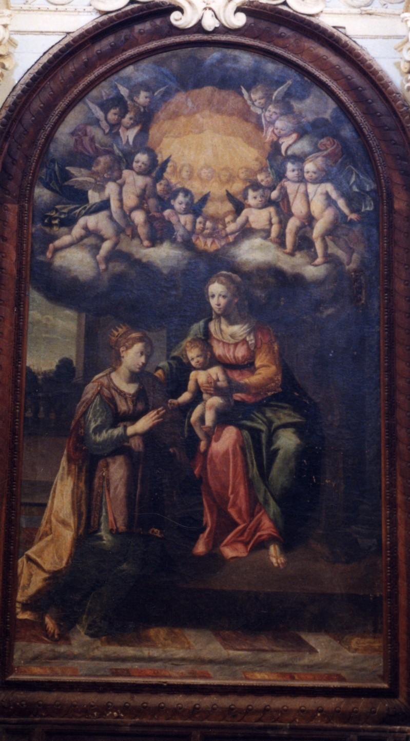 Calisti C. (1627), Nozze mistiche di Santa Caterina da Siena