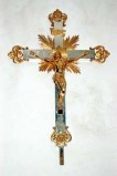 Produzione italiana sec. XX, Croce processionale
