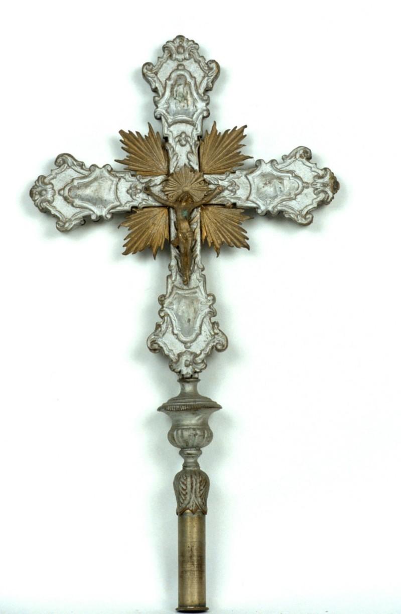 Bottega piemontese sec. XIX, Croce processionale