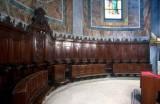 Bottega piemontese sec. XVIII, Coro ligneo