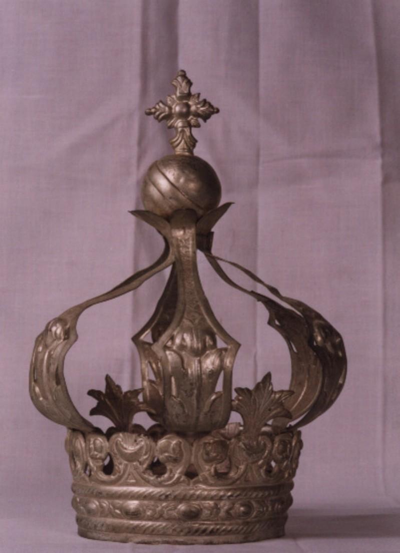 Ambito dell'Italia meridionale sec. XIX, Corona del Bambino