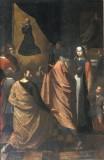 Mornassi O. - Capitanelli T. (sec. XVII), Dipinto con miracolo di S. Filippo