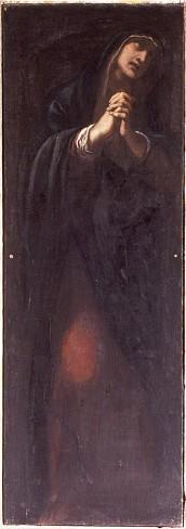 Carracci L. (1614), Dipinto Madonna addolorata