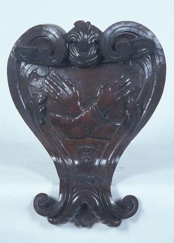 Ambito emiliano sec. XVIII, Cartiglio