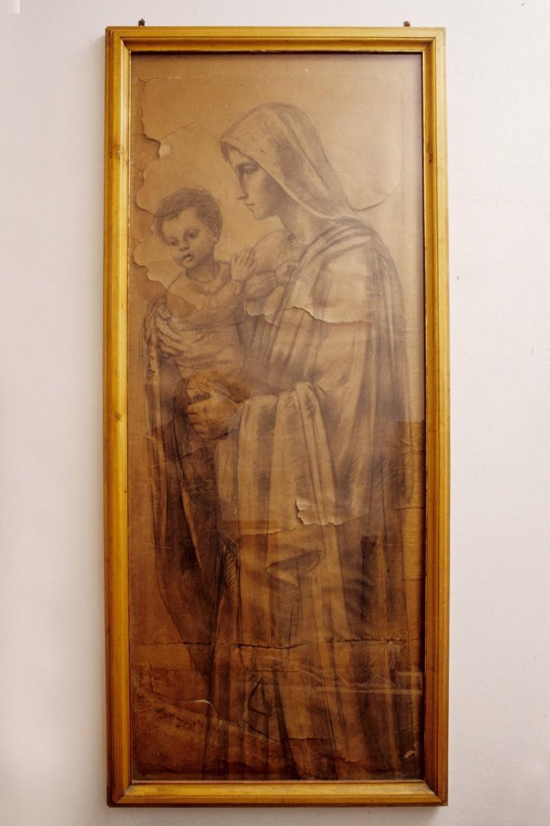Beweb Opera Oppi U 1934 35 Disegno Madonna Con Bambino