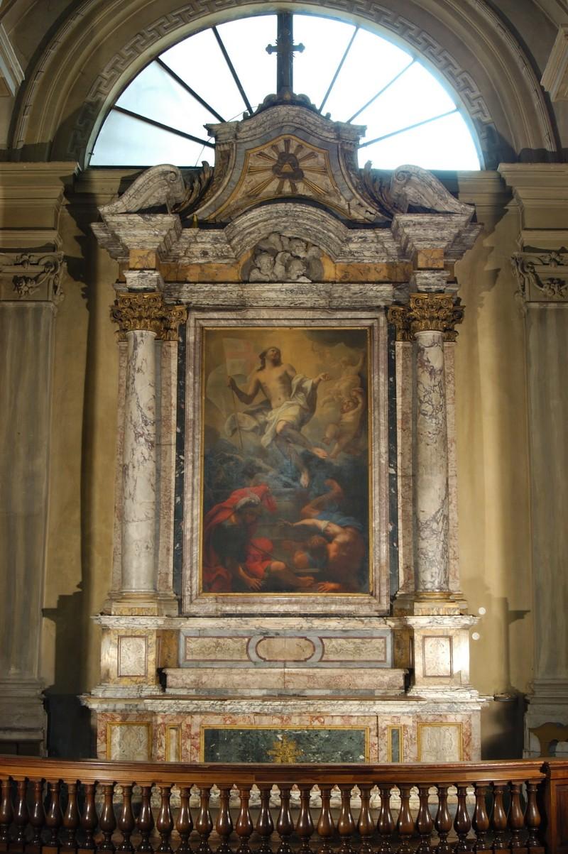 Ambito ravennate (1761), Altare della Resurrezione