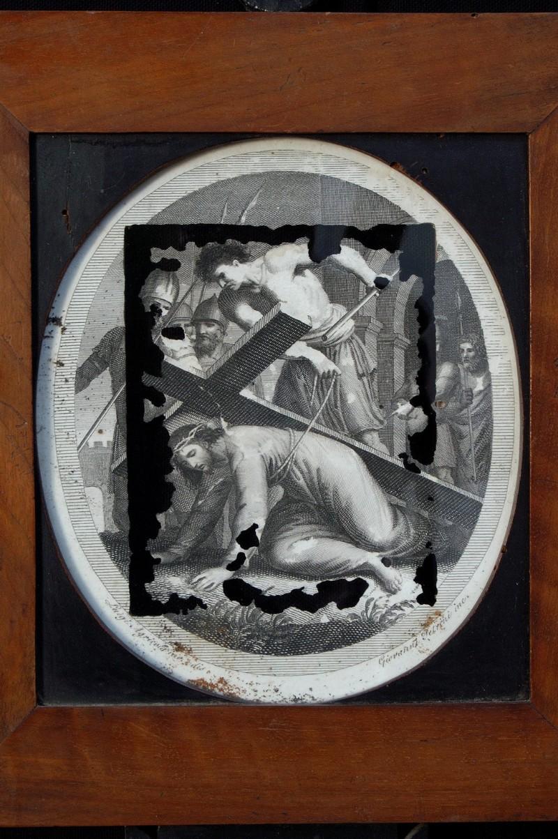 Agricola L. - Petrini G. sec. XVIII, Gesù Cristo cade la prima volta