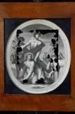 Agricola L. - Petrini G. sec. XVIII, Gesù Cristo aiutato dal cireneo