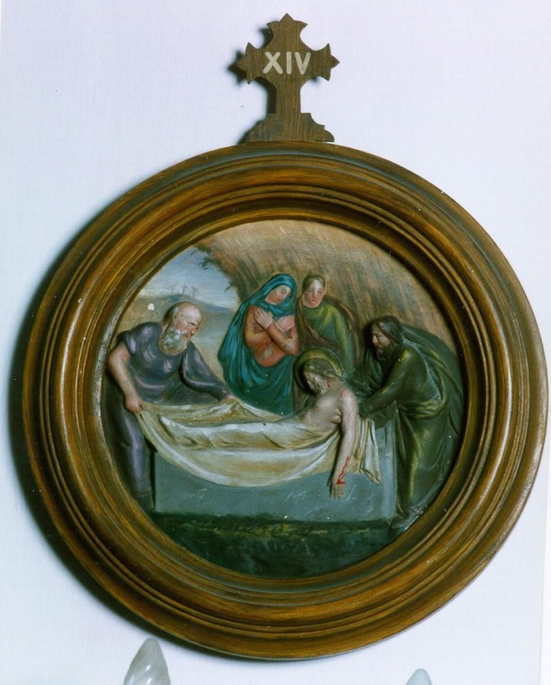 Ambito italiano sec. XX, Gesù sepolto