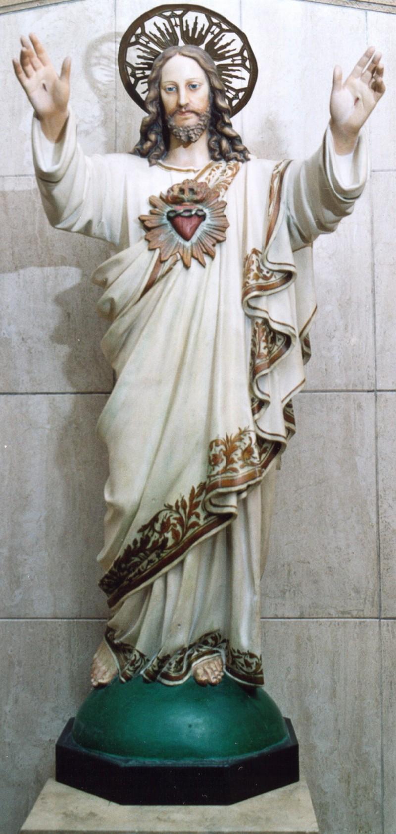 Ambito romano sec. XX, Statua di Cristo risorto