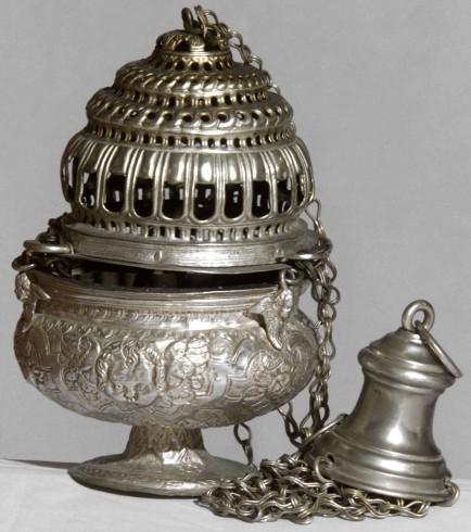 Ambito lombardo-veneto sec. XVII, Turibolo