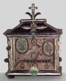 Ambito lombardo-veneto sec. XVIII-XIX, Reliquiario a urna