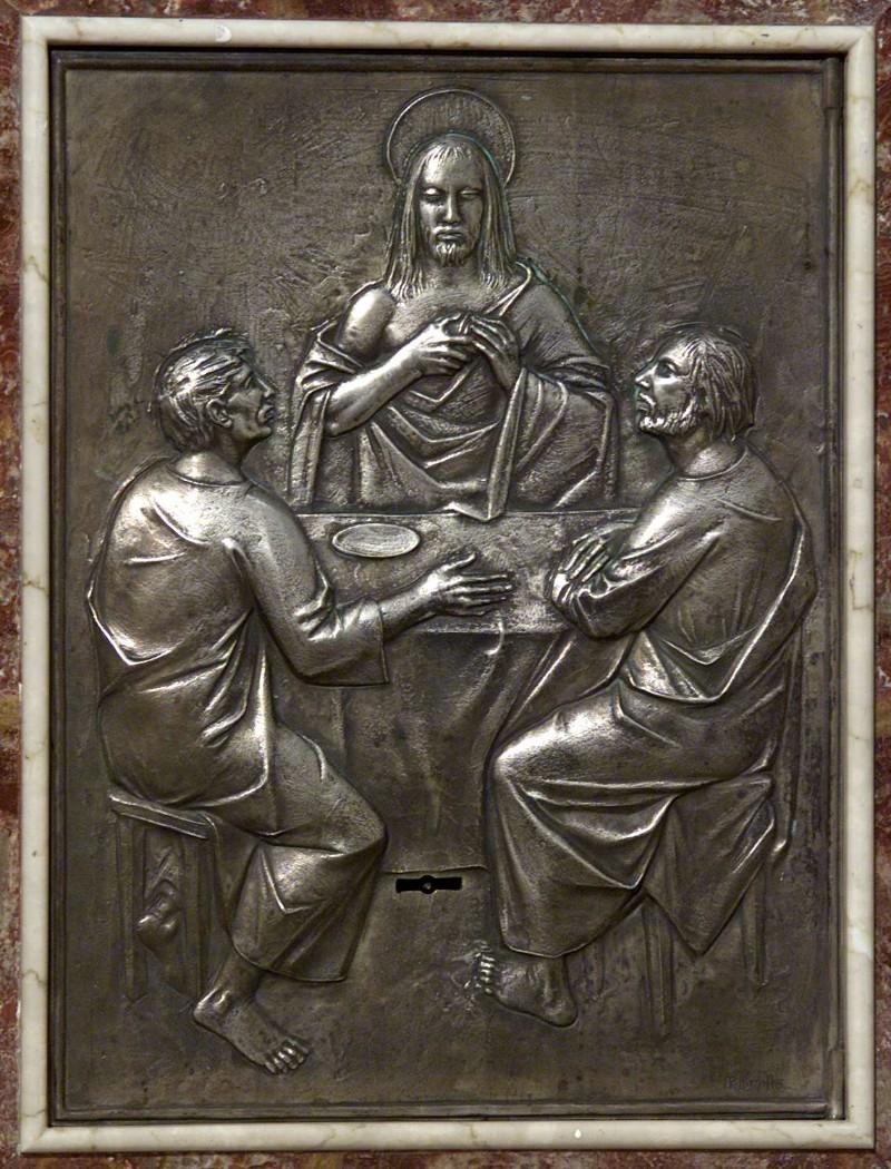 Brolis P. (1960), Sportello di tabernacolo