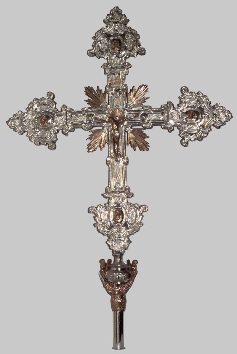 Ambito lombardo-veneto sec. XVIII, Croce astile