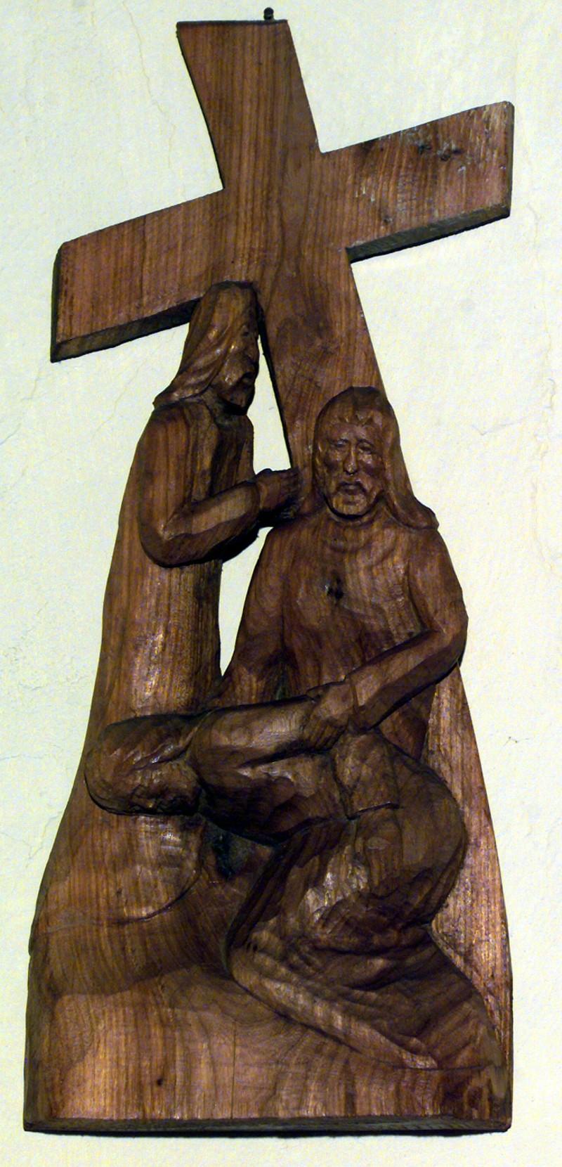 Varischetti G. (1984), Via Crucis stazione III