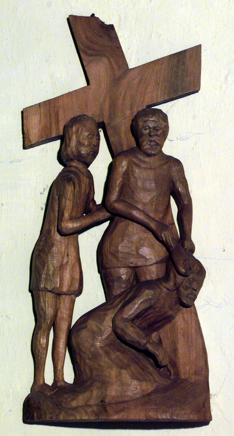 Varischetti G. (1984), Via Crucis stazione IX