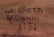 Varischetti G. (1984), Via Crucis stazione I