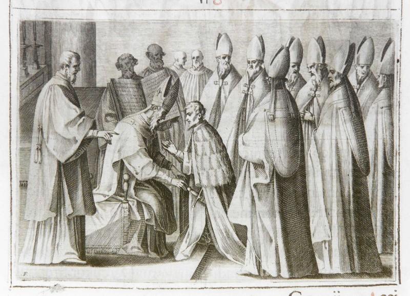 Ambito romano (1595), Benedizione e incoronazione del re 6/10