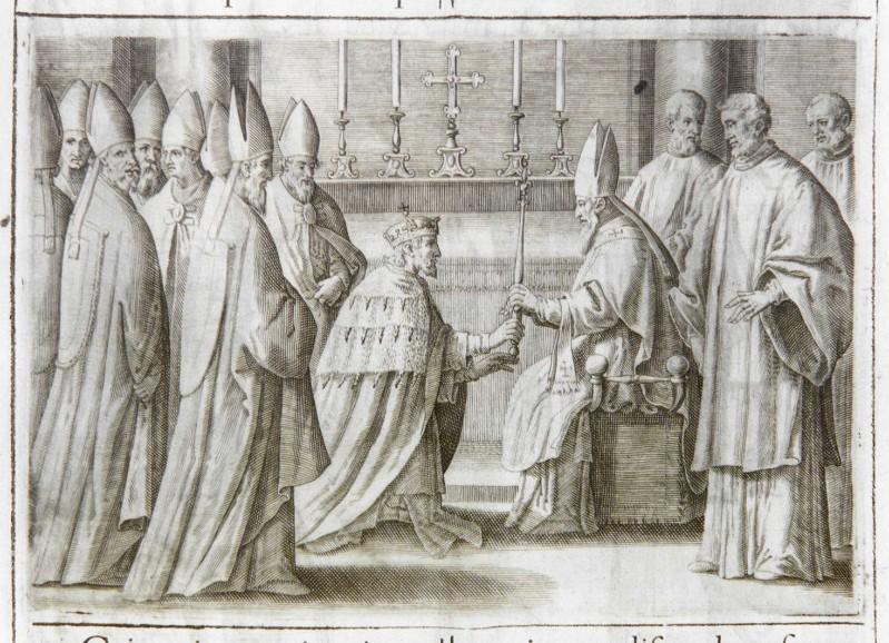 Ambito romano (1595), Benedizione e incoronazione del re 8/10