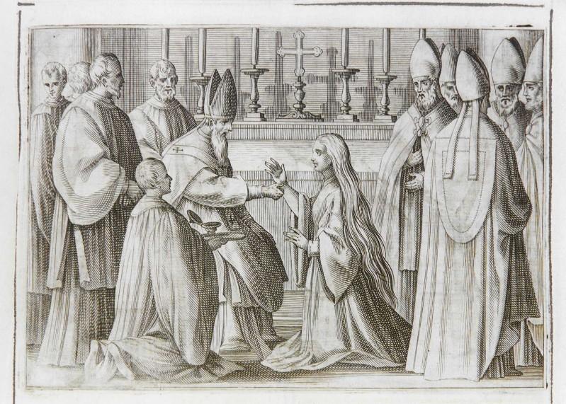 Ambito romano (1595), Benedizione e incoronazione della regina 3/11