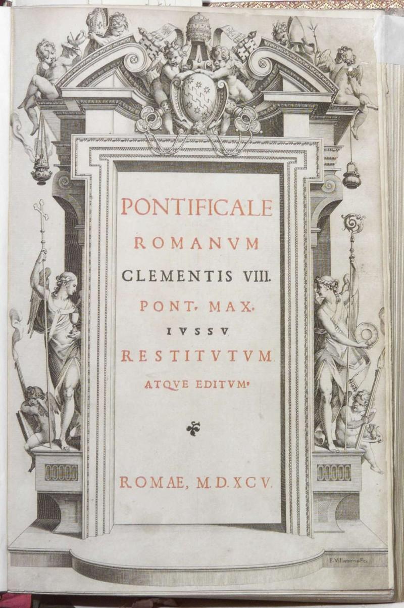Villamena F. (1595), Frontespizio
