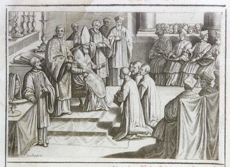 Graffico C.-Tempesta A. (1595), Ordinazione sacerdotale