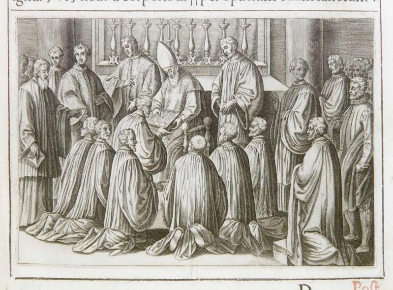 Lauro G. (1595), Ordinazione degli esorcisti