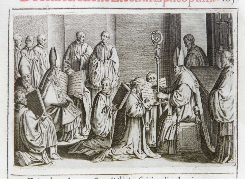 Ambito romano (1595), Consacrazione del vescovo 7/12