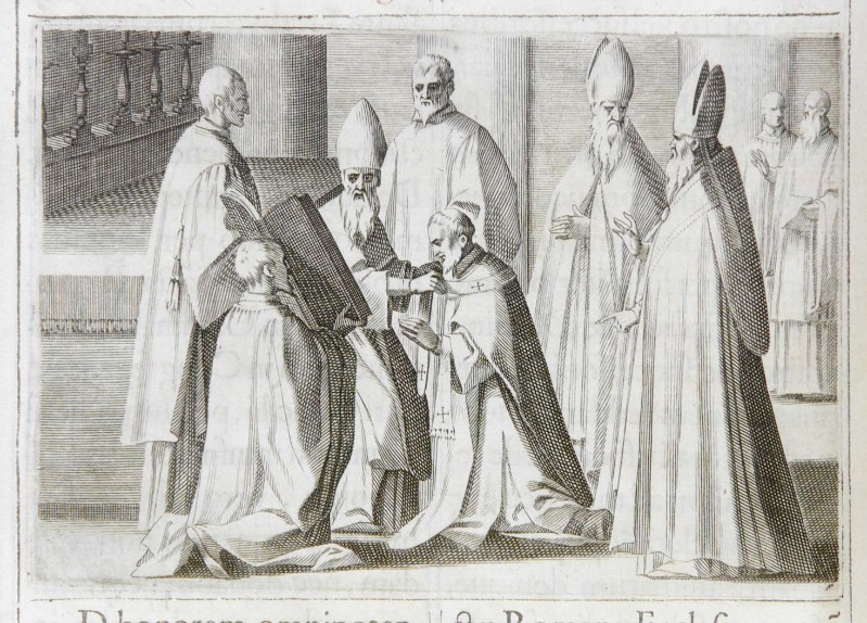 Ambito romano (1595), Imposizione del pallio