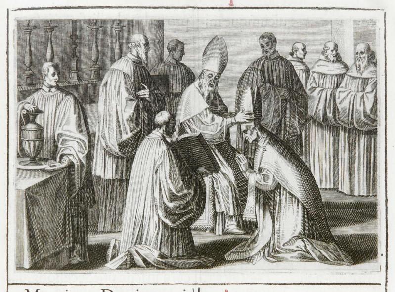 Ambito romano (1595), Benedizione dell'abate 8/9