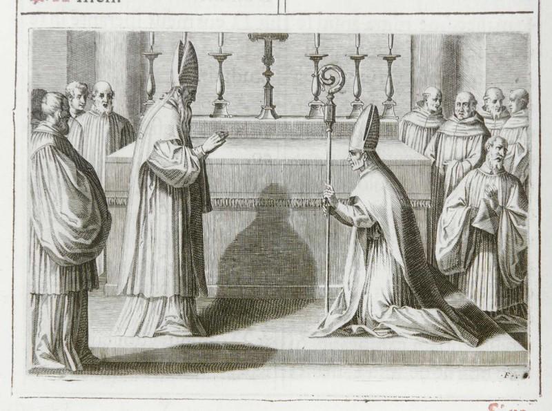 Ambito romano (1595), Benedizione dell'abate 9/9