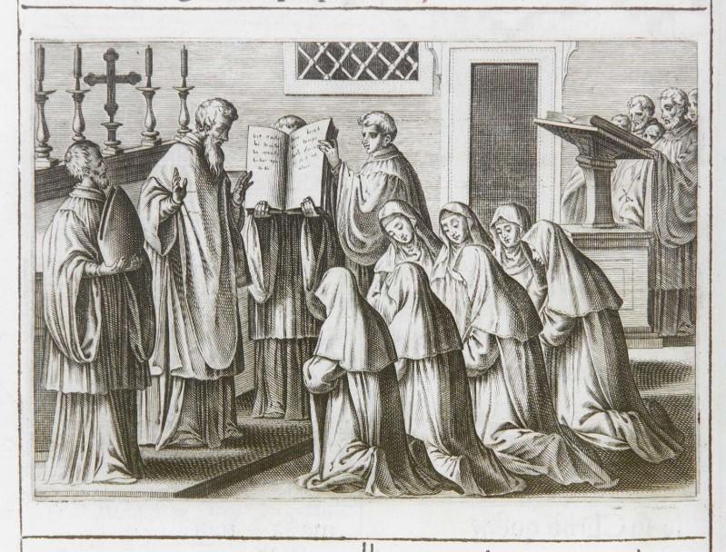Ambito romano (1595), Benedizione e consacrazione delle vergini 2/7
