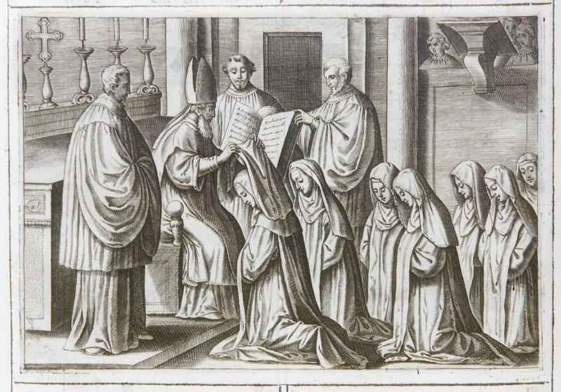 Ambito romano (1595), Benedizione e consacrazione delle vergini 3/7