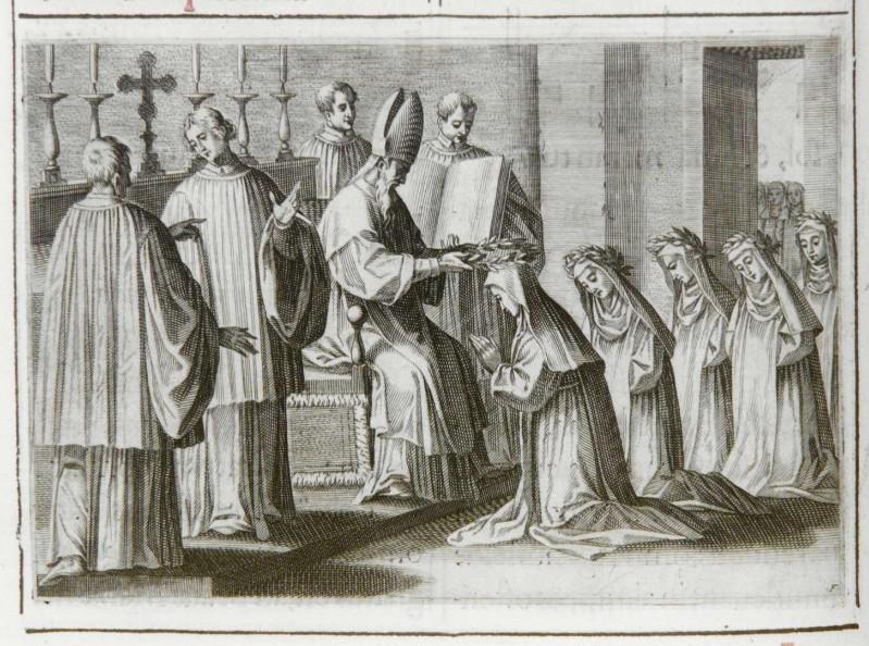 Ambito romano (1595), Benedizione e consacrazione delle vergini 5/7