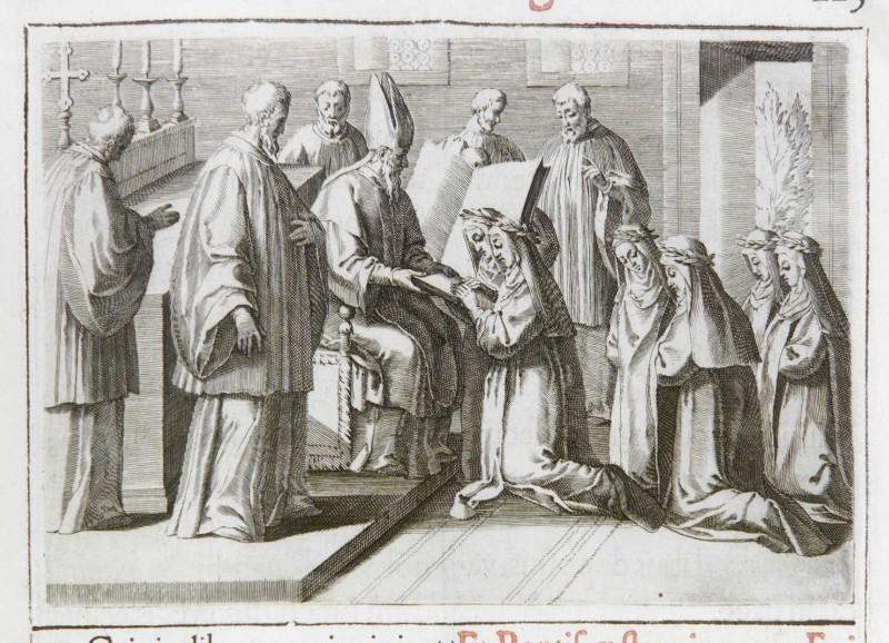 Ambito romano (1595), Benedizione e consacrazione delle vergini 7/7