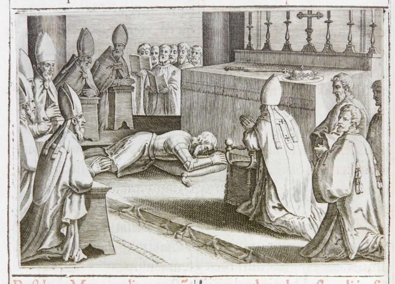 Ambito romano (1595), Benedizione e incoronazione del re 3/10