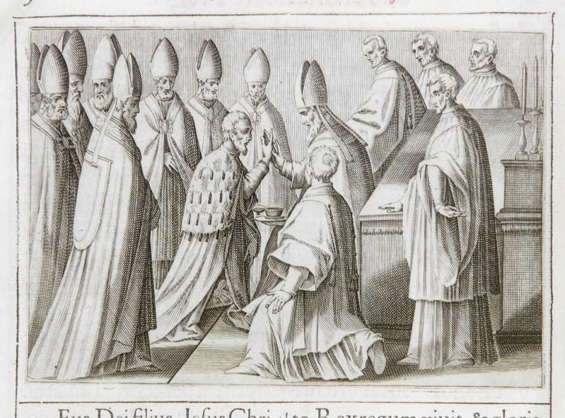 Ambito romano (1595), Benedizione e incoronazione del re 4/10