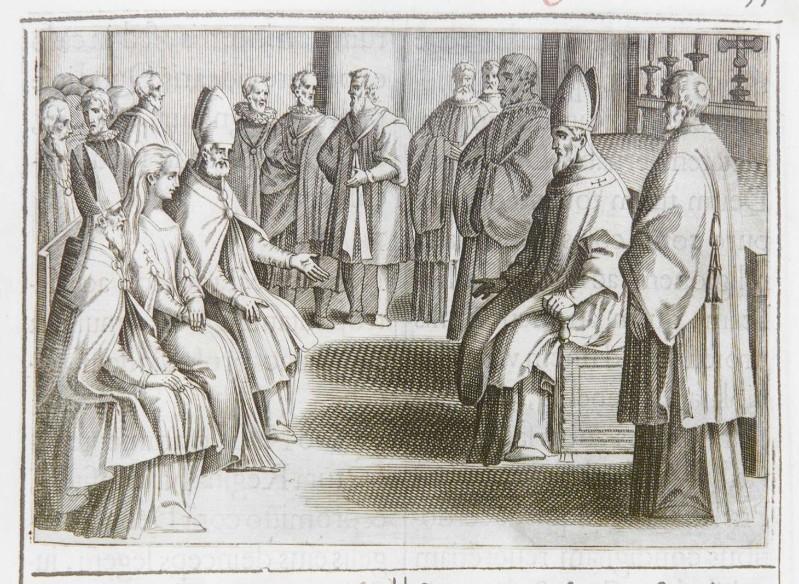 Ambito romano (1595), Benedizione e incoronazione della regina 7/11