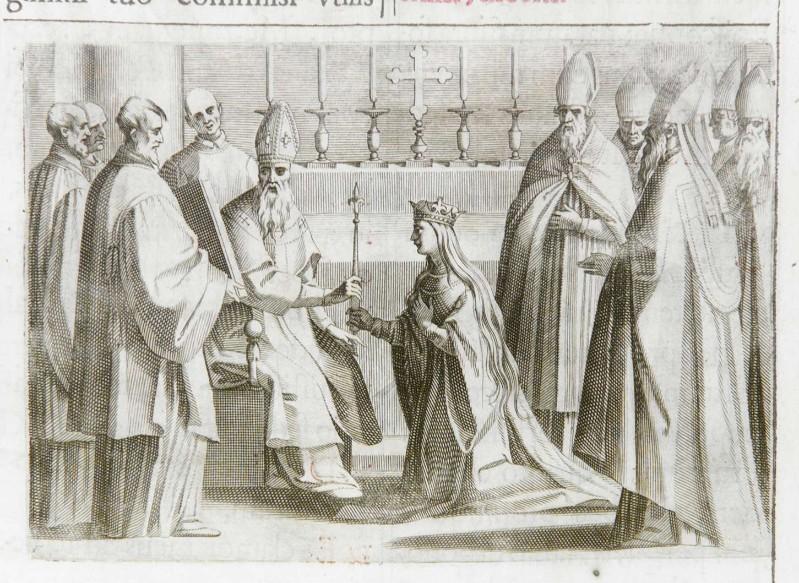 Ambito romano (1595), Benedizione e incoronazione della regina 11/11