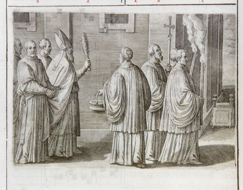 Ambito romano (1595), Dedicazione o consacrazione di una chiesa 1/18
